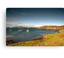 Barra: Early Morning in Castlebay Canvas Print