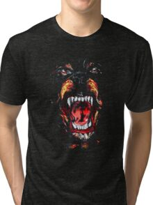 GIVENCHY ROTTWEILER Tri-blend T-Shirt