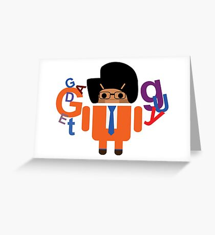 Gadget Guy V Android Greeting Card