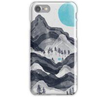 The Sun in Moon Lake... iPhone Case/Skin
