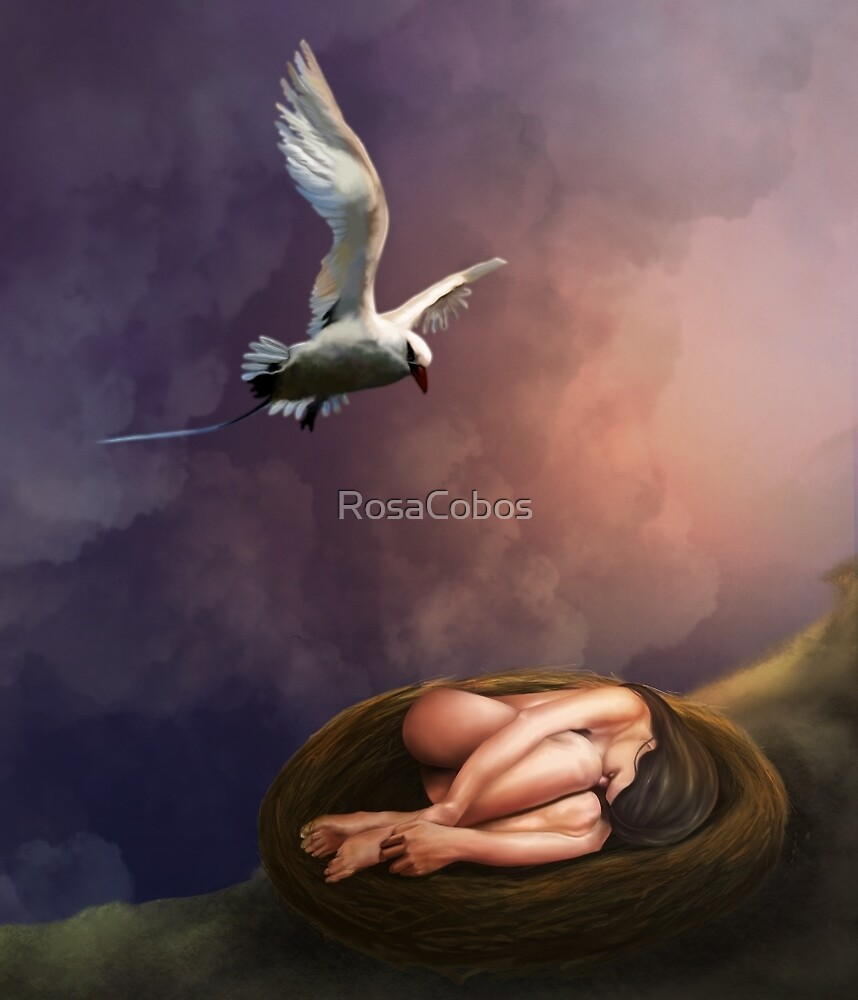 NESTING WOMAN by RosaCobos