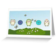 Hai Hai to Poi Greeting Card