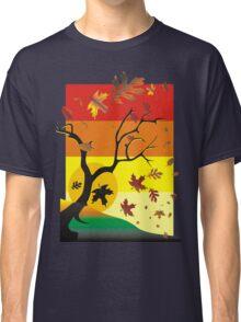 Fall - Autumn Scene Classic T-Shirt