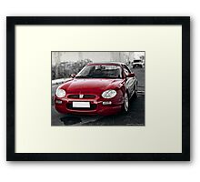 sport car Framed Print