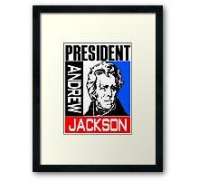 ANDREW JACKSON-3A Framed Print