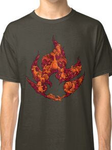 PokeDoodle - Fire Classic T-Shirt