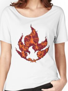 PokeDoodle - Fire Women's Relaxed Fit T-Shirt