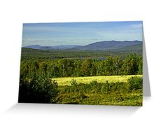 North Country Slam Dunk Greeting Card