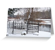 Serene Resting Place Greeting Card