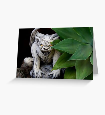garden guardian Greeting Card