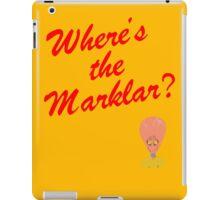 Where's the Marklar? iPad Case/Skin