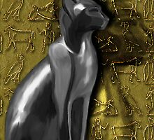 Bastet goddess by Marilyns