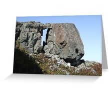 Arch at Silver Star Mountain II Greeting Card