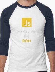 Javascript - Manipulate the DOM Men's Baseball ¾ T-Shirt