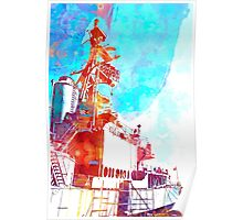USS Orleck Poster