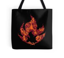 PokeDoodle - Fire Tote Bag