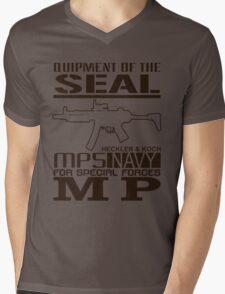 SEAL FORCES Mens V-Neck T-Shirt