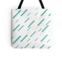 Linework Pattern Tote Bag