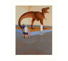 """Museum II (T-Rex)"" Art Print"