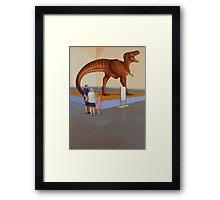 """""""Museum II (T-Rex)"""" Framed Print"""