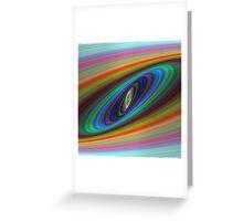 Multicolor galaxy Greeting Card