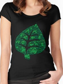 PokeDoodle - Grass Women's Fitted Scoop T-Shirt