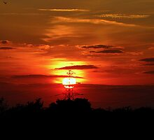 Sunset 01 29-09-09 by Sharon Perrett
