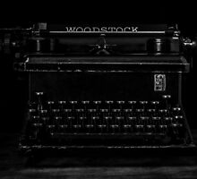 Old Typewriter by Edward Fielding