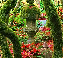 Butchart Gardens 6 by James Birkbeck