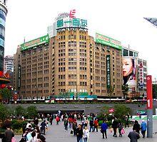 Sun Co Ltd - East Nanjing Rd - Shanghai by John Meckley