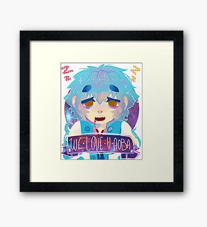 We Love You Aoba Framed Print