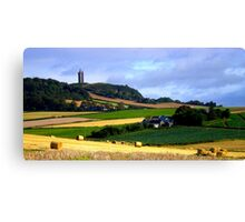 Harvest in Ards Canvas Print