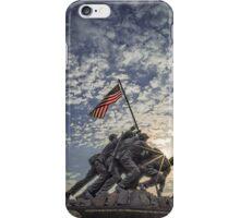 Iwo Jima Memorial Sunrise iPhone Case/Skin