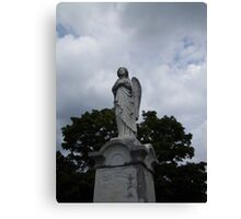 Solitary Angel Canvas Print