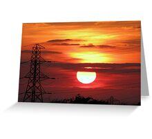 Sunset 02 29-09-09 Greeting Card
