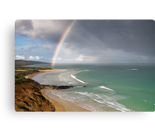Spring Shower,Anglesea,Great Ocean Road. Canvas Print