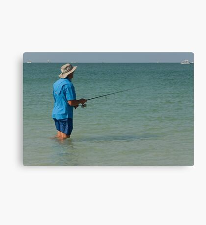 A Good Day Fishing!  Canvas Print