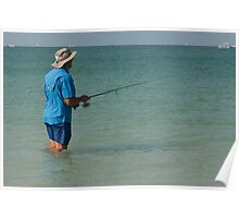 A Good Day Fishing!  Poster