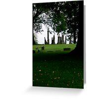 Grave Hill Greeting Card
