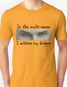 Einsteins Multiverse - Black text T-Shirt