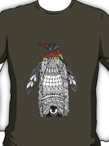 Zentangle Penguin T-Shirt