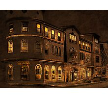 Late Night At Pattersons Pub Photographic Print