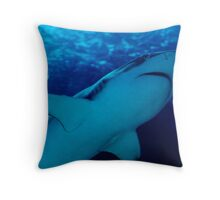 the shark Throw Pillow