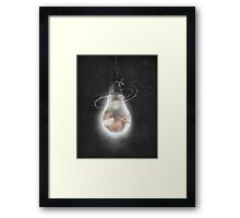 Love Shines Bright Framed Print