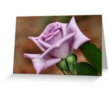The 'BLUE MOON' a rose with exceptional beauty and elegance ! Greeting Card