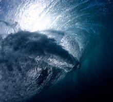 Rider from below by Tim Brennan