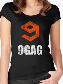 9gag black Women's Fitted Scoop T-Shirt