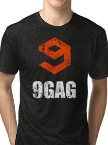 9gag black Tri-blend T-Shirt