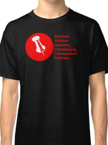 Bubble Action Society for Conscious and Outspoken Morals Classic T-Shirt