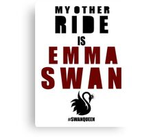 My Other Ride (Emma) Canvas Print